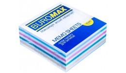 Блок паперу BUROMAX 2253 д/нотаток  Зебра  не склеєний 80*80*30мм (1/)