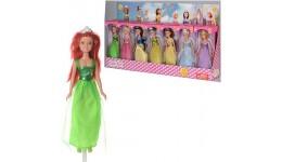 DEFA кукла  8309 22см  9-24 5-4 5см  14шт(7 видов) в дисплее  64-25-9 5см