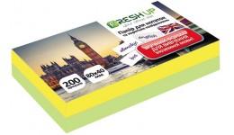 Блок паперу Fresh Up FR-11 для нотаток мікс клеєний 85х85х400арк  (1)