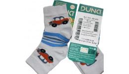 Дитячі шкарпетки DUNA 456 демі  10-12 сірі 70%бавовна  27% поліамід  3%еластан