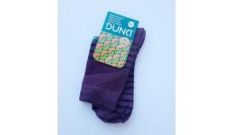 Дитячі шкарпетки DUNA 456 демі  22-24 бузкові 70%бавовна  27% поліамід  3%еластан