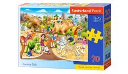 Пазл Касторленд  70 (046) Парк динозаврів 40*29см