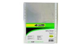 Файл А4 4OFICE 4-200 глянець (ціна за 100шт) 30мкм 235*310мм (1/30)