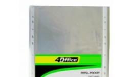 Файл А4 4OFICE 4-271 глянець (ціна за 100шт) 23мкм (1/30)