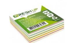 Блок паперу Fresh Up FR-2411 для нотаток мікс не клеєний 80х80х40мм (1/24/2304)