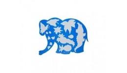 Трафарет ЛУЧ фігурний (17С-1145-08)  Слоненя  (1)