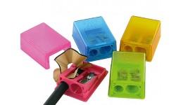 Точилка KUM 2в1 К2 Pop (НІМЕЧЧИНА) пластик. з/контейнером 2 відділ. BOX (1/12)