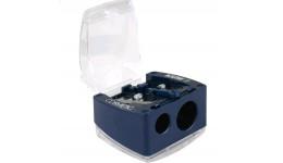 Точилка KUM 6023 (НІМЕЧЧИНА) КОСМЕТИЧНА пластик. з/контейнером 2 відділ. (1/12)