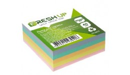 Блок паперу Fresh Up FR-3412 для нотаток класика клеєний 80х80х40мм (1/24/2304)