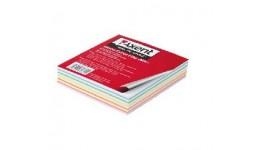 Блок паперу AXENT 8014 д/нотаток МІКС несклеєний 90*90*20мм (1/144)