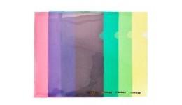 Папка-куточок SCHOLZ 01310 А4 пластик. червона 180мкм (10)