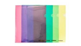 Папка-куточок SCHOLZ 01310 А4 пластик. жовта 180мкм (10)