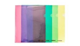 Папка-куточок SCHOLZ 01310 А4 пластик. зелена 180мкм (10)