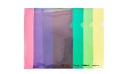 Папка-куточок SCHOLZ 01310 А4 пластик. синя 180мкм (10)