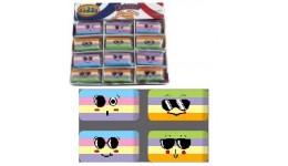 Гумка CLASS 4972 різнокольор.  Stripes  асорті (36)