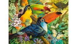 Пазл Касторленд 3000 (433) Пташки  92*68 см