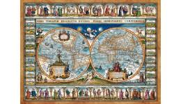 Пазл Касторленд 2000(733) Карта світу  92*68 см