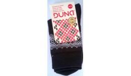 Дитячі шкарпетки DUNA 460 демі  18-20 чорні 52% поліамід 45% еластан 3%