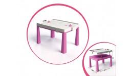 Стіл дитячий+комплекс для гри  рожевий 56 х 81 5 х 48 см DOLONI