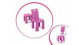 Стілець-табурет рожевий 30 х 60 х 30 см. DOLONI