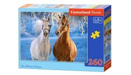 Пазл Касторленд  260 (27378) Коні  32*23 см