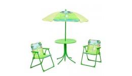 Столик 93-74-DINO  диам.50см  стульчик 2шт  зонтик(рег.висота)  динозавр
