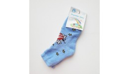 Шкарпетки дитячі р.14-16 блакитний бавовна 80% поліестер 15% еластан 5%