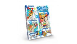 Водяна розмальовка AQUA Painter 01 Песик бавиться (4 картинки+блискуча мозаїка) (у) (18) ДТ