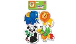 Бебі пазли 1106-85 (Зоопарк) (Vladi Toys)