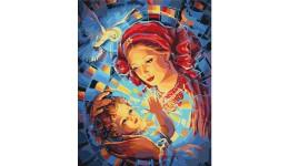 Шкарпетки дитячі р.14-16 червоний бавовна 80% поліестер 15% еластан 5%