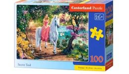 Пазл Касторленд  100 (1114) Таємна стежина   40*29 см