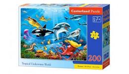 Пазл Касторленд  200 (2094) Підводний світ 40*29 см