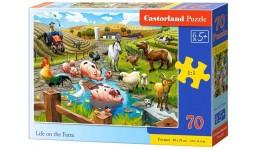 Пазл Касторленд  70 (060) Життя на фермі 40*29см