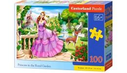 Пазл Касторленд  100 (1091) Принцеса в королівському саду   40*29 см