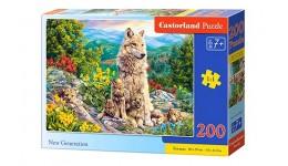 Пазл Касторленд  200 (2087) Нове покоління 40*29 см