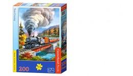 Пазл Касторленд  200 (2070) Поїзд на мосту 40*29 см