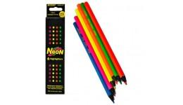 Олівці кольорові  MARCO  6 кол 5500В-6СВ  Neon  шестигранні  (1/24/480)