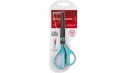 Ножиці AXENT 6406-05 офісні 19см Titanium Lite сіро-блакитні (1/12)
