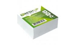 Блок паперу Fresh Up FR-1411 для нотаток білий не клеєний 80х80х40мм (1/24/2304)