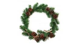 Вінок Yes! Fun з прикрасами  Різдвяна ніч  d - 40см