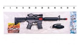 Автомат на пістонах 803 М118 Джей іграшковий з гранатою  пакет 36*15 см