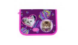 Пенал CLASS 99201 без/наповн. 1-ярус. 2відв.   Lovely Kitties  (1/12)