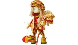 Набір д/шиття текстильної каркасної ляльки 1025  Пустун  18x45 НС