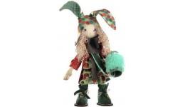 Набір д/шиття текстильної каркасної ляльки 1033  Зайчиха мама  18x45 НС