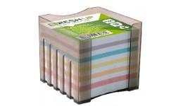 Блок паперу Fresh Up FR-2531 для нотаток мікс не клеєний  в плас. боксі  85х85х800л (1/36/1152)