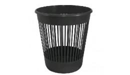 Корзина д/паперів DELTA 4018-01 пластик. кругла ЧОРНА 10л (1/25)