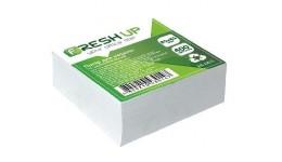 Блок паперу Fresh Up FR-1211 для нотаток білий не клеєний 85х85х400арк  (1/30/2880)