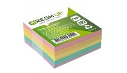 Блок паперу Fresh Up FR-3211 для нотаток класика не клеєний 85х85х400арк  (1/30/2880)