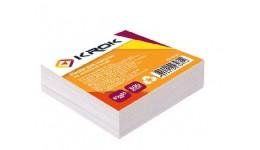 Блок паперу Krok KR-1111 для нотаток білий не клеєний 85х85х300арк (1/48/4608)