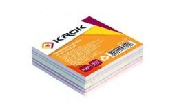 Блок паперу Krok KR-2111 для нотаток мікс не клеєний 85х85х300арк (1/42/4032)